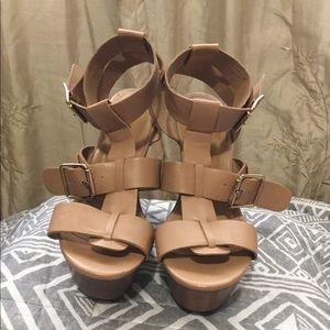 Shoes - Brown Heels
